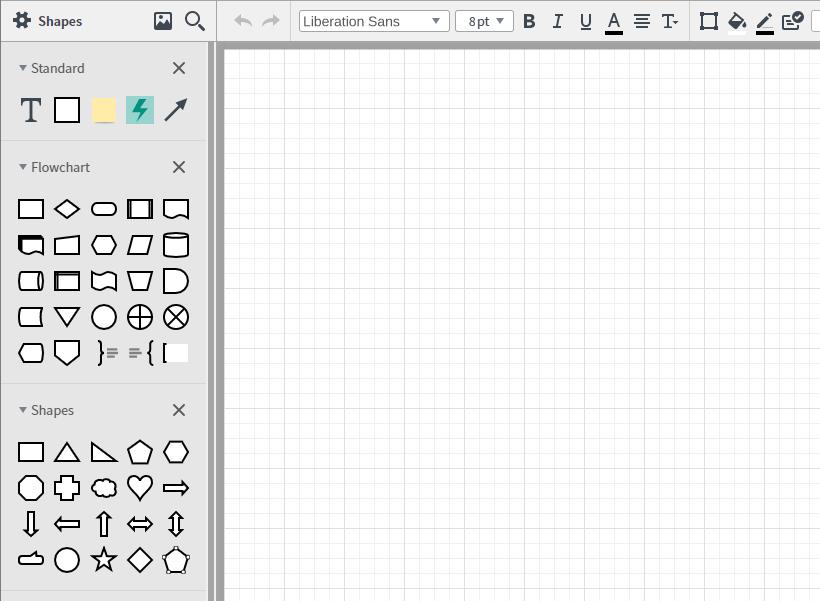LucidChart for free UX designing