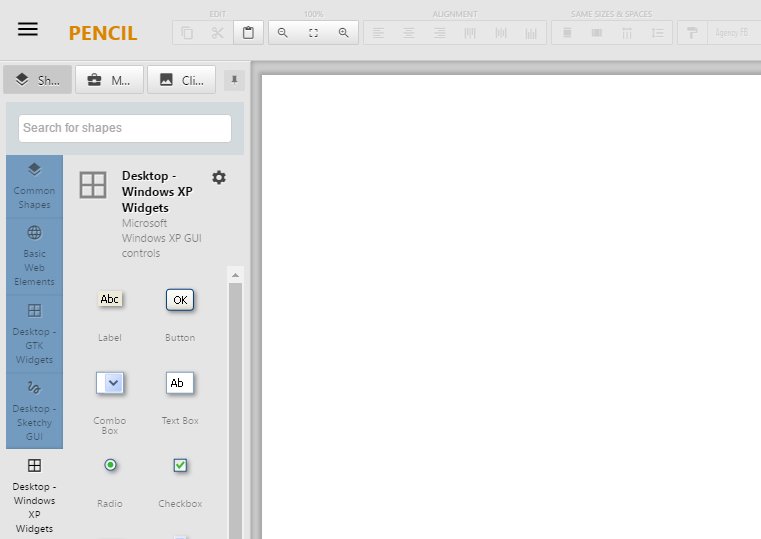 Pencil, an open source UX prototyping tool