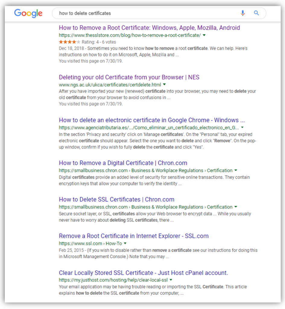 search results seo best practices